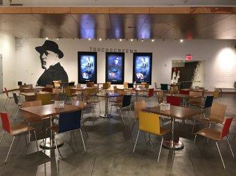 Signature Theater cafe seating area
